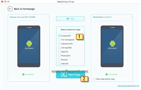 transfer android to android transfer contacts from android to android