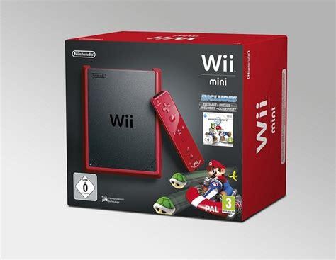 nintendo wii mini console wii mini console rood mario kart wii kopen