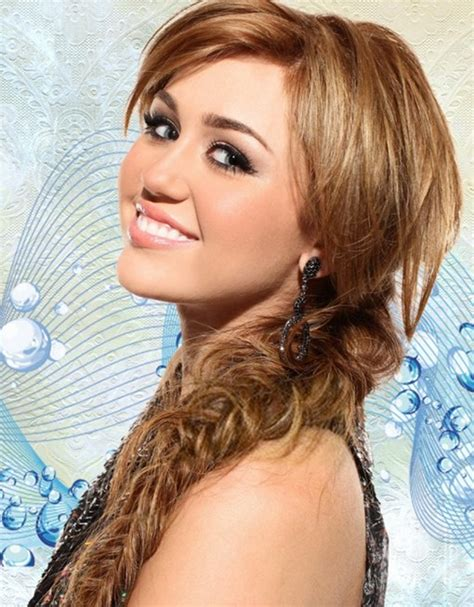 messy braid hairstyles for long hair miley cyrus hair