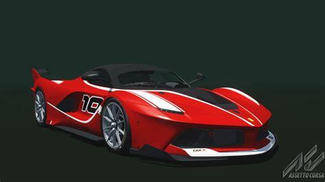 K Ferrari ferrari fxx k ferrari car detail assetto corsa database