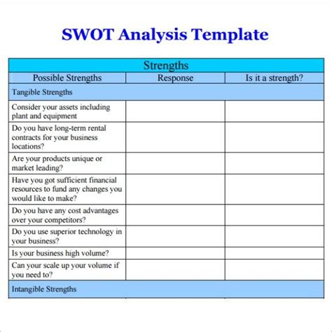30 Best Strategy Images On Pinterest Swot Analysis Best Swot Analysis Template
