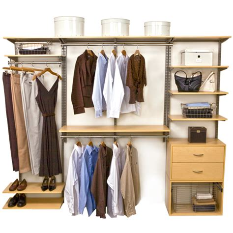 Freedomrail Closet by Freedomrail Closet System Maple In Pre Designed