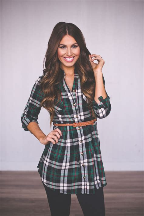 Dress Dotie Tunic dottie couture boutique green plaid tunic dress 42 00 http www dottiecouture green