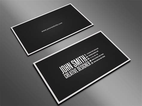 Business Card Layout