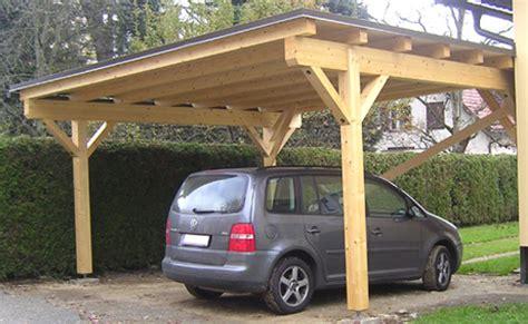 single lean to or freestanding timber carport wiata garażowa czy potrzebne są zezwolenia