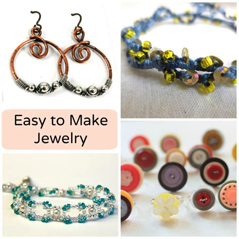 How To Make Simple Easy - 7 easy to make jewelry patterns