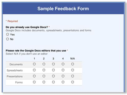 Online Survey Form - online survey form template choice image templates design ideas