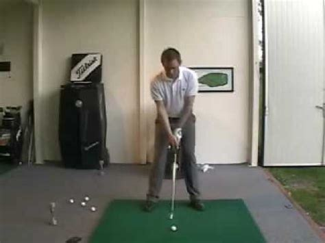 golf swing wall drill slow motion golf swing drill how to save money and do it