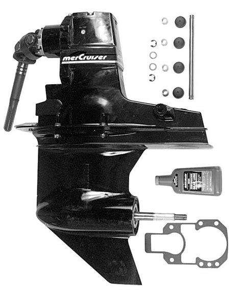 onderdelen speedboot the mercruiser alpha one outdrive