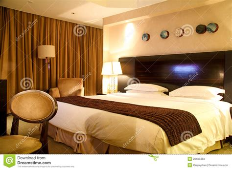 luxury king size bed luxury hotel room with king size bed stock photos image 28639463
