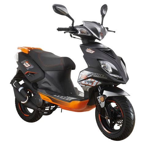 Roller 25 Ccm Gebraucht Kaufen Ebay explorer speed 50 motorroller 2016 schwarz orange 45 km h