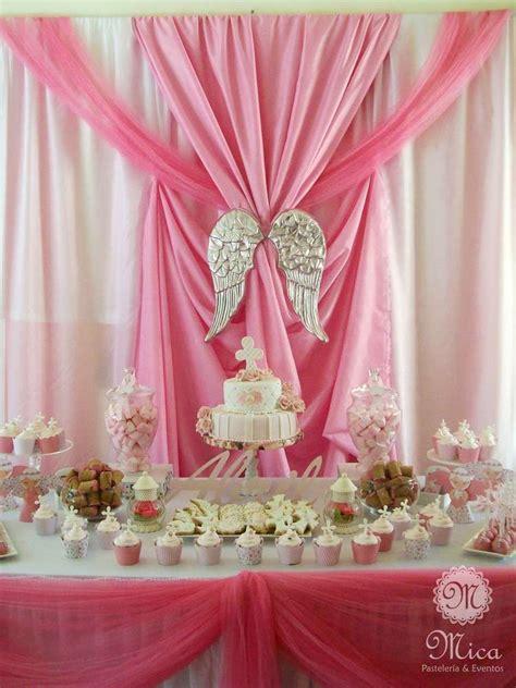 pink baptism ideas decoraci 243 n para bautizo de ni 241 a bautizo bautizo ni 241 o decoracion