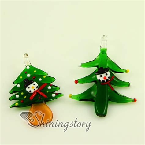venetian glass christmas tree tree italian venetian lwork blown murano glass pendants for necklaces jewelry cheap