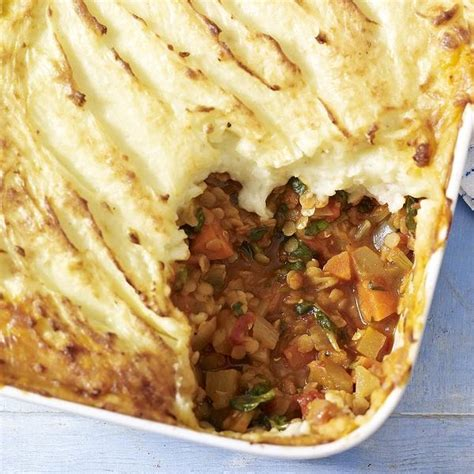 oliver cottage pie berry s vegetable and lentil cottage pie