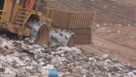 finds wedding ring at landfill site after accidentally