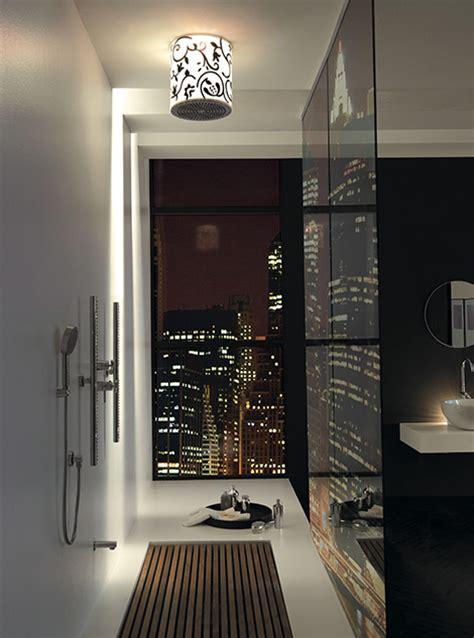 Modern Home Decor Bathroom Jaclo Lumiere Showerhead Damask Defines Modern