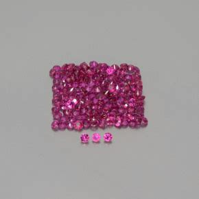 01 Pink Ruby 0 carat 150 pcs pink ruby gems from mozambique