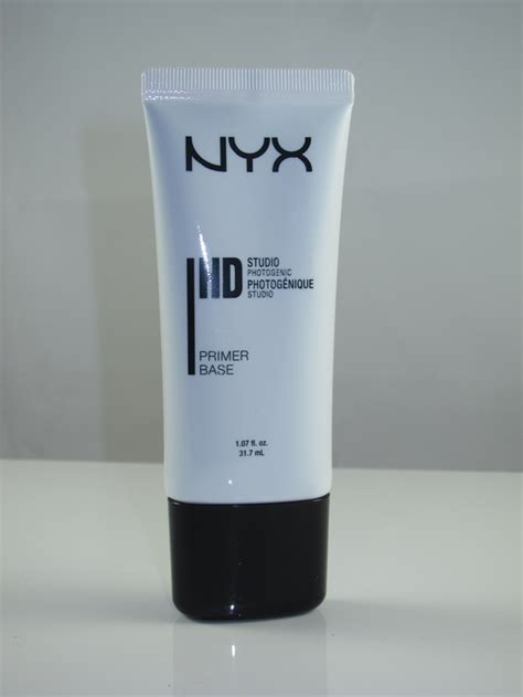 nyx hd studio photogenic primer base review swatches