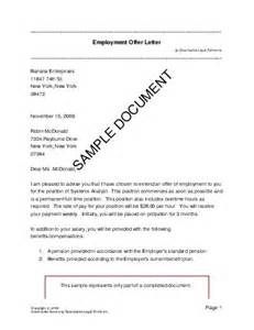 employment offer letter mexico templates