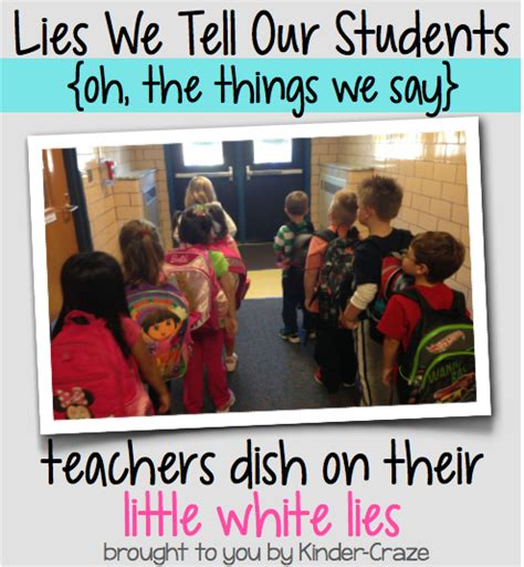 10 Lies He Will Tell by Lies We Tell Our Students