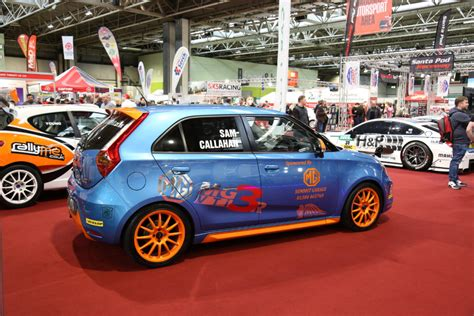 Automobile Club Inter Insurance by Mg3 Race Car Debuts At Autosport International Motorsport