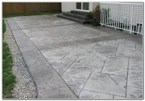 sted concrete backyard ideas sted concrete patio designs color patios home