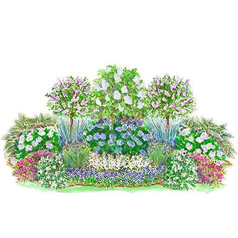 easy care flowering shrubs easy care summer blooming shade garden plan gardens