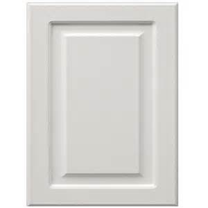 white kitchen cabinet doors shop surfaces bennett 11 in x 15 in white engineered wood