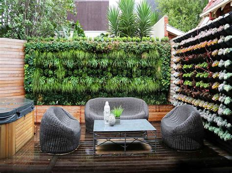 Green Wall Garden Courtyard Landscape Architecture Building Garden Walls