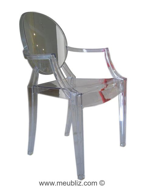 chaise louis ghost fauteuil louis ghost par philippe starck meuble design