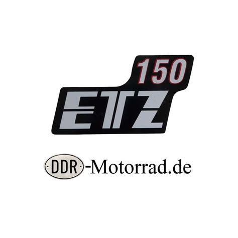 Motorrad Aufkleber Verkleidung by Aufkleber Seitendeckel Mz Etz 150 Ddr Motorrad De