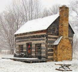 cabin in the snow house