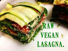 gourmet raw vegan lasagna recipe lovefoodvideos