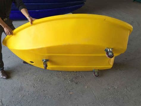 fishing boat length small polyethylene fishing boat plastic rescue boat 2m