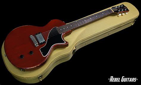 rock n roll relics rebel guitars rock n roll relics thunders sc in vintage cherry rebel