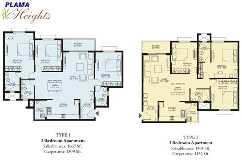 floor plan image plama heights floor plan hennur road apartments bangalore property developers in