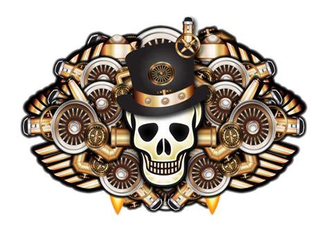 punk tattoo png machanical steunk tattoo by illustratorg on deviantart