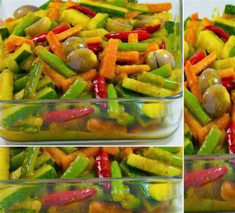 resep acar kuning sayur timun wortel buncis aneka resep