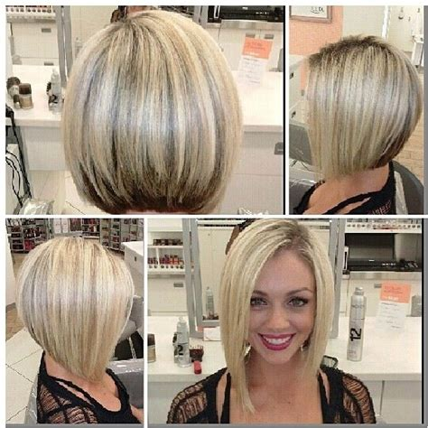 asymetrical ans stacked hairstyles 586 best images about hair inverted bob on pinterest