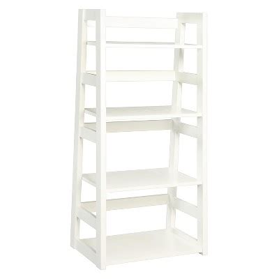 Trestle Bookcase 44 25 Quot White Convenience Concepts 174 Target Target Bookcase White