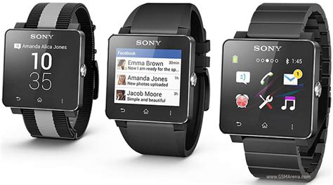 Jam Sony Smartwatch 2 sony smartwatch 2 sw2 pictures official photos