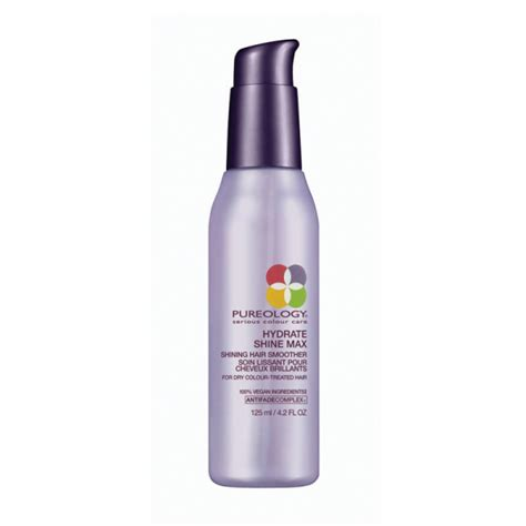 pureology hydrate light conditioner hydrate shine max a day away salon and spa
