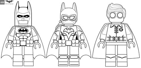 coloring pages of lego robin лего бэтмен раскраски из серии lego batman мультфильма
