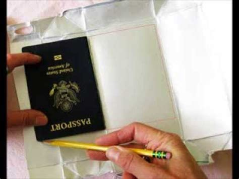 how to make a card sleeve diy rfid blocker sleeves for cards and passports