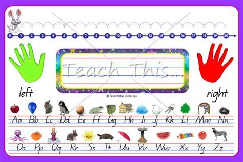 printable number lines for student desks desk mat k 1 printable teacher resources for teachers