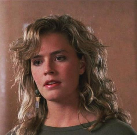 elisabeth shue young movies elisabeth shue love the bangs w the wavy hair i d rock