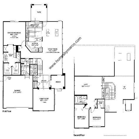 coventry homes floor plans coventry model in the inverness subdivision in vernon hills illinois homes by marco