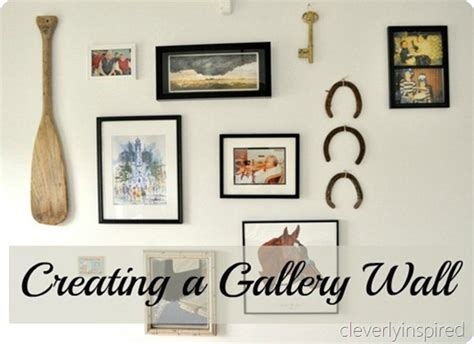 how to do a gallery wall how to create a gallery wall cleverly inspired
