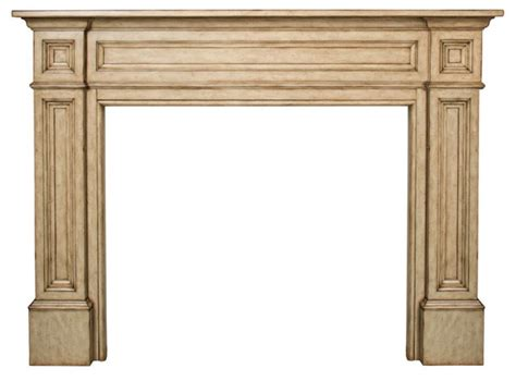 Unfinished Wood Fireplace Mantels by Pearl Mantels 140 50 Classique 50 Quot Fireplace Mantel