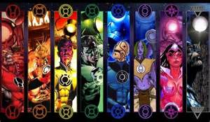 green lantern ring colors atrocitus larfleeze sinestro hal walker